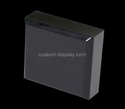 Custom black perspex display block