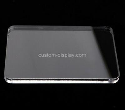 Custom acrylic display block