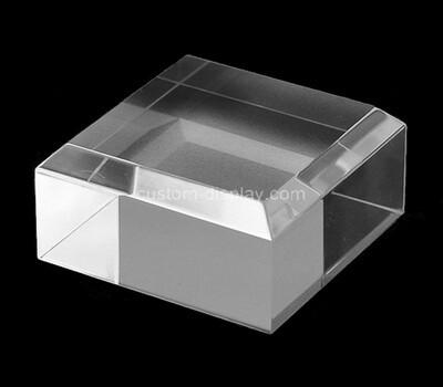 Custom acrylic beveled display block
