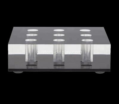 Custom clear plexiglass display holders block