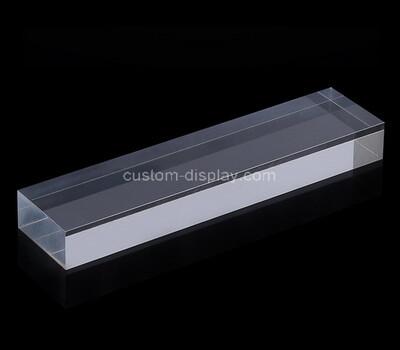 Custom clear plexiglass paperweight