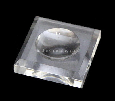 Custom clear plexiglass soap dish