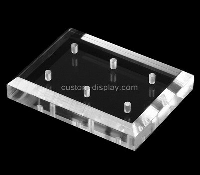 Custom perspex beveled display block