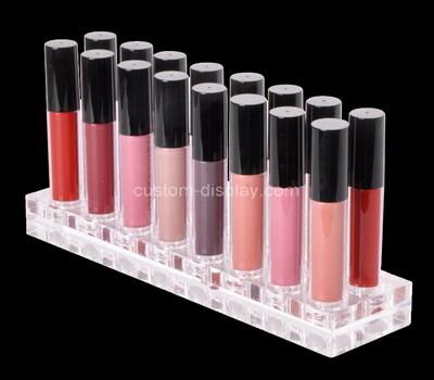 Custom perspex makeup display block