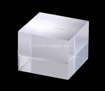 Custom perspex display cube