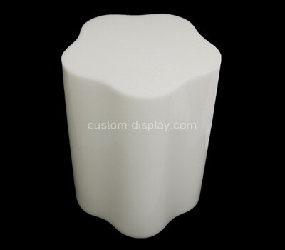 Custom flower shape perspex display block