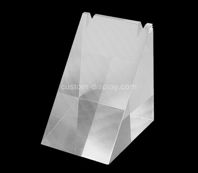 Custom triangle perspex necklace display block
