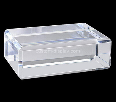 Custom clear acrylic display block