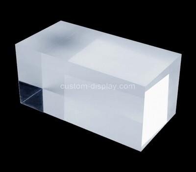 Custom acrylic display cube