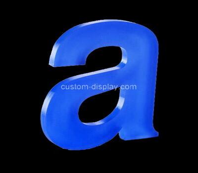 Custom laser cut acrylic letter