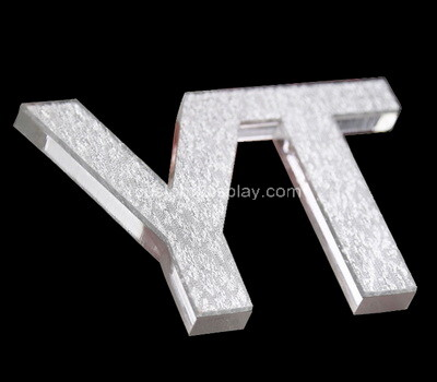 Custom laser cutting plexiglass letters