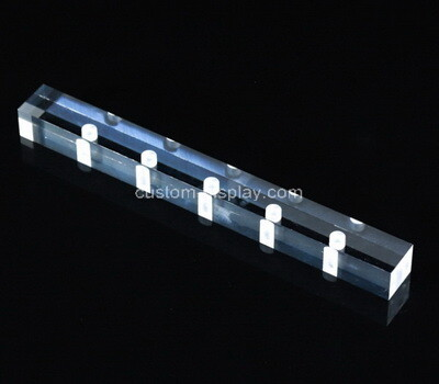 Custom laser cutting plexiglass block
