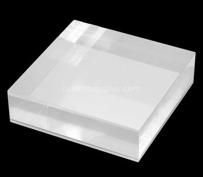 Custom plexiglass display block