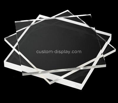 Custom acrylic laser cutting service