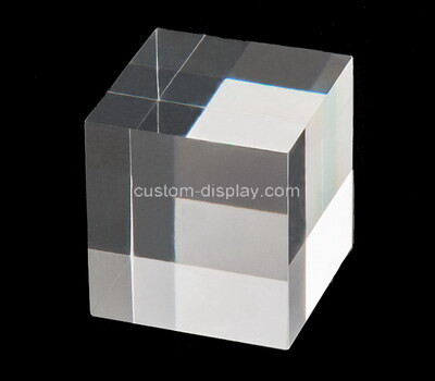 Custom laser cutting acrylic display cube