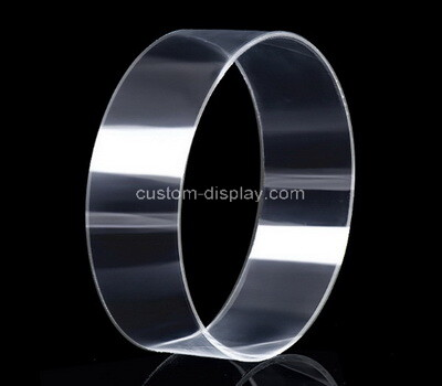 Laser cutting clear plexiglass ring