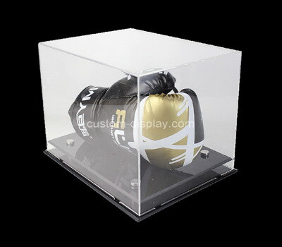 Custom acrylic boxing glove display box