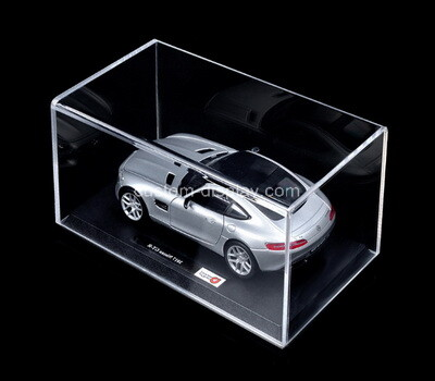 Custom clear acrylic model car display box