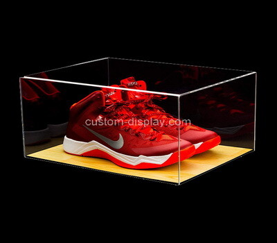 Custom clear acrylic shoes box