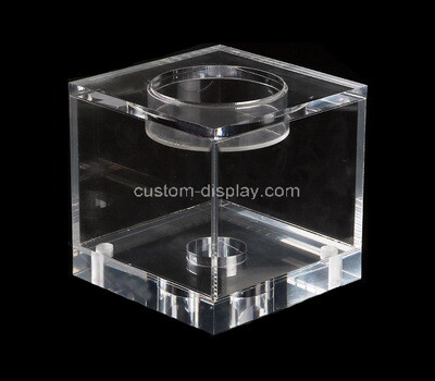 Custom clear acrylic box