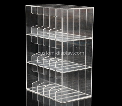 Custom 3 tiers multi grids acrylic display holders