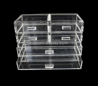 Custom acrylic 6 drawers organizer