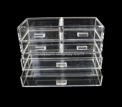 Custom acrylic 6 drawers organizer