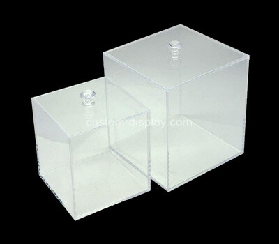 Custom square acrylic boxes