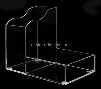 Custom 2 grids clear acrylic boxes
