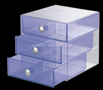 Custom acrylic 3 drawers boxes