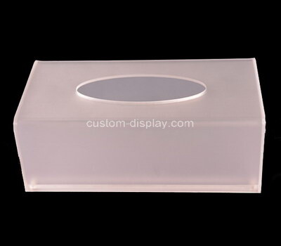 Custom acrylic tissue box