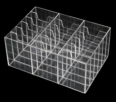 Custom multi grids plexiglass organizer boxes