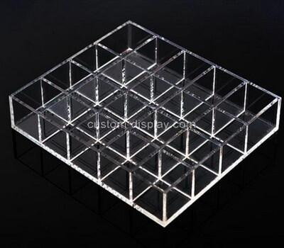 Custom 20 grids plexiglass organiser boxes