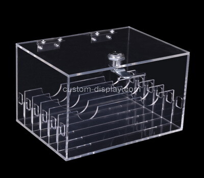 Custom multi grids clear plexiglass box