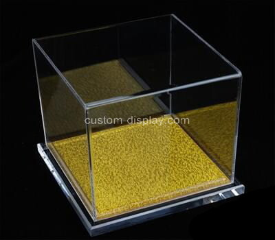Custom square clear plexiglass display box