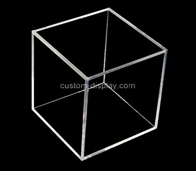 Custom square clear plexiglass box