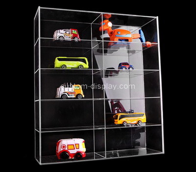 Custom clear plexiglass model cars display box