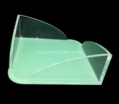 Custom table top plexiglass note pads holder