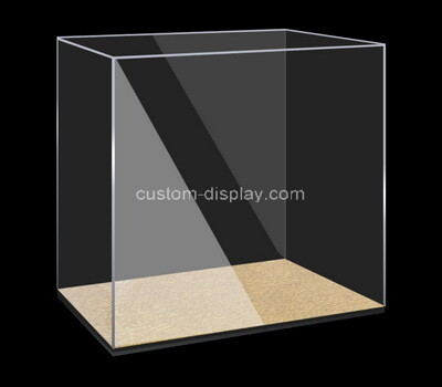 Custom narrow clear plexiglass organizer box