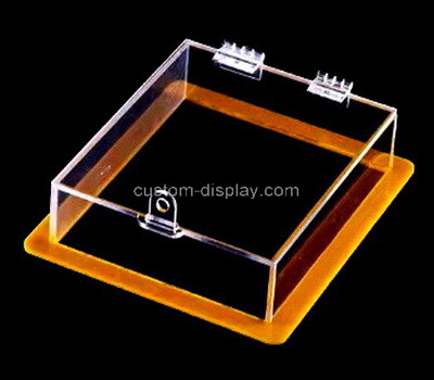 Custom plexiglass locking display case