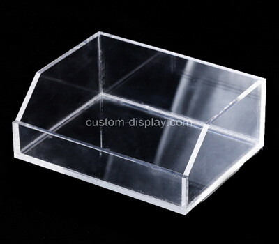 Custom clear plexiglass holder box