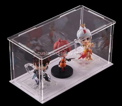 Custom clear plexiglass toys collapsible display box