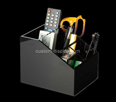Custom table top plexiglass organizer holder