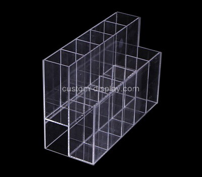Custom 2 tiers 10 grids plexiglass organizer holders