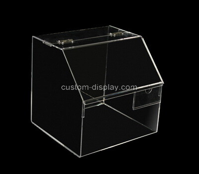 Custom counter top clear plexiglass box