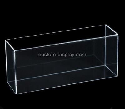 Custom narrow clear plexiglass box