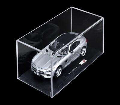 Custom clear plexiglass model car display case