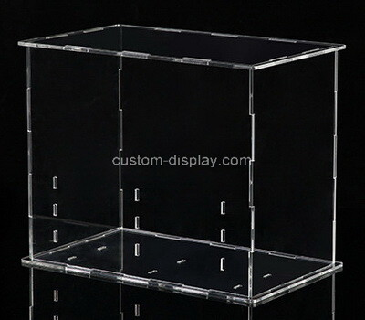 Custom clear plexiglass collapsible display box