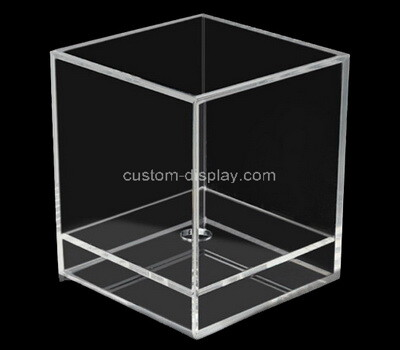 Custom square clear perspex display box