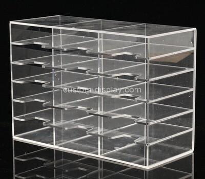Custom 24 grids clear plexiglass display box